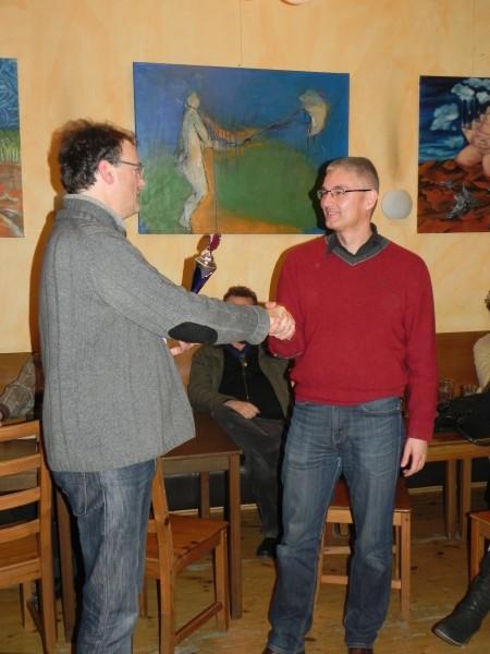 Berliner Backgammon-Vizemeister 2013 Matthias