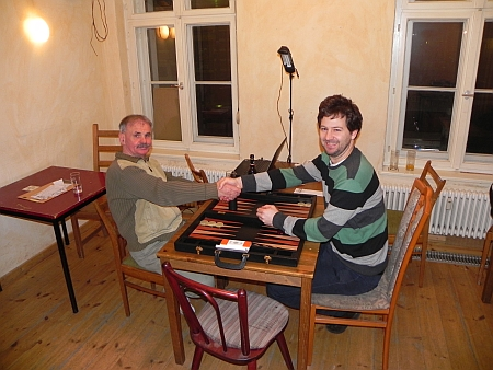 Vor den Finale - Gerhard (li), Peter