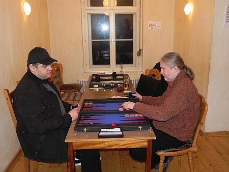 Igor B (li), Thomas beim Spiel um den 3. Platz
