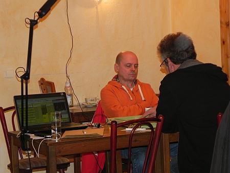 Werden gefilmt: Ralf gegen Rolf