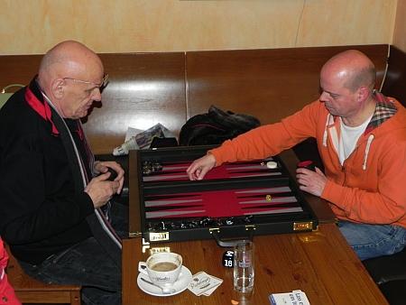 Stellitenfinale: Bernhard Ludwig (li), Rolf