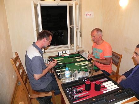 Finale der Second Chance: Michael Horchler (li) gegen Gerhard Zerbin