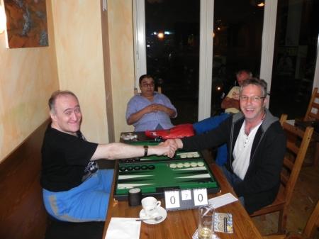 Ganz schön spät: Finale der Second Chance: Igor K (li) gegen Ralf Sudbrak