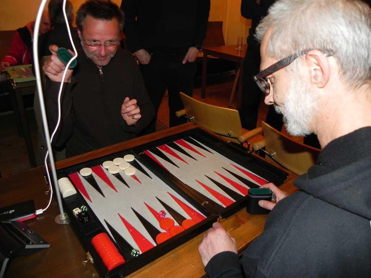 Backgammon Pasch
