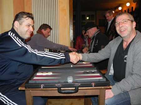 Spiel um den dritten Platz - Igor Bakuowizki (li) gegen Ralf Sudbrak