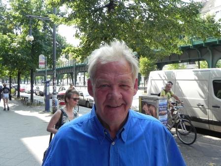 Zum ersten Mal in Berlin dabei: Der Wahberliner Lenus J. Carlson