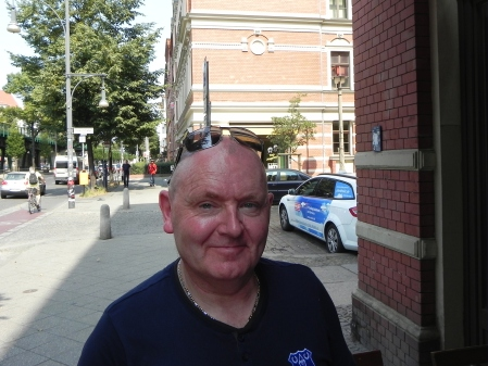 Zum ersten Mal in Berlin dabei: Mark Manley aus Chester