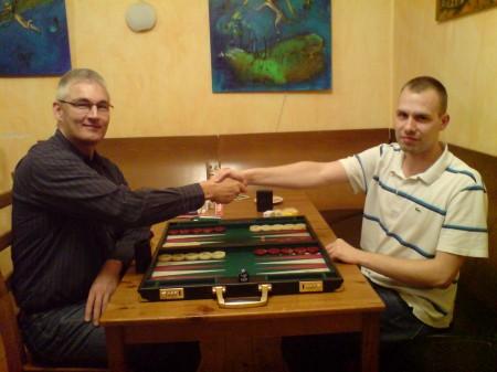 Vor dem Finale der Second Chance: Matthias (li) und Paul