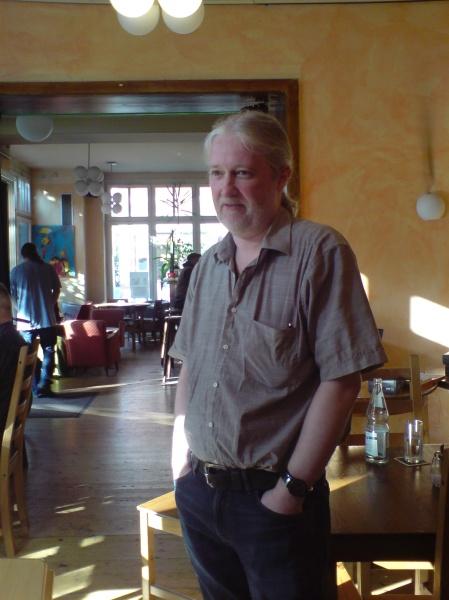 Entspannt: Thomas Krüger, der zusammen mit Rolf Schüler das Turnier geleitet hat