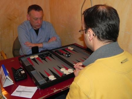 Ulrich Tamm (li) gegen Martin Birkhahn