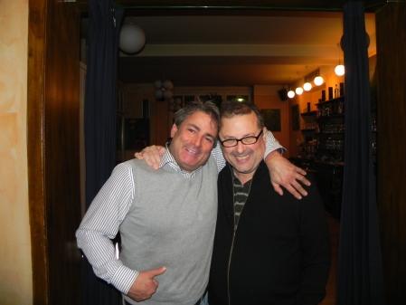 Was lange währt, wird endlich ziemlich beste Freunde: Andreas Kohlschmidt, Vitali Olchanski
