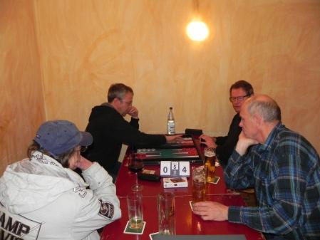 Finale des Jackpots: Ralf (li) gegen Stephan Hartmann