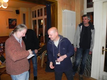 Turnierdritter: Rolf Schüler