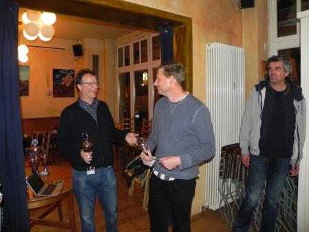 Finalist des größten und wichtigsten Turniers von Berlin Backgammon 2015: Guido Weidner