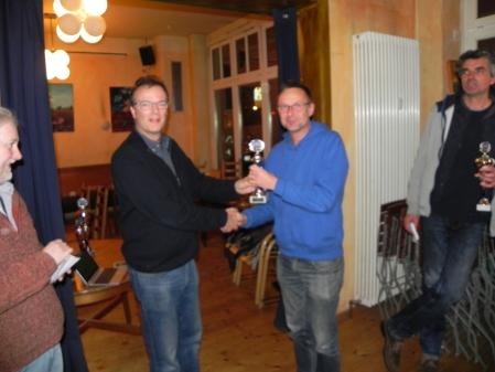 Berliner Backgammon Dritter 2015: Michael Horchler (leider etwas unscharf)