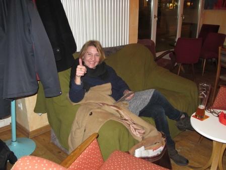Ruhe vom Spielstress: Sabine Brinkmann