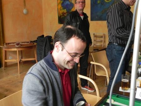 Gute Laune auf unserem Turnier: Martin Birkhahn