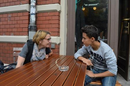 Sabine und Yonas Brinkmann