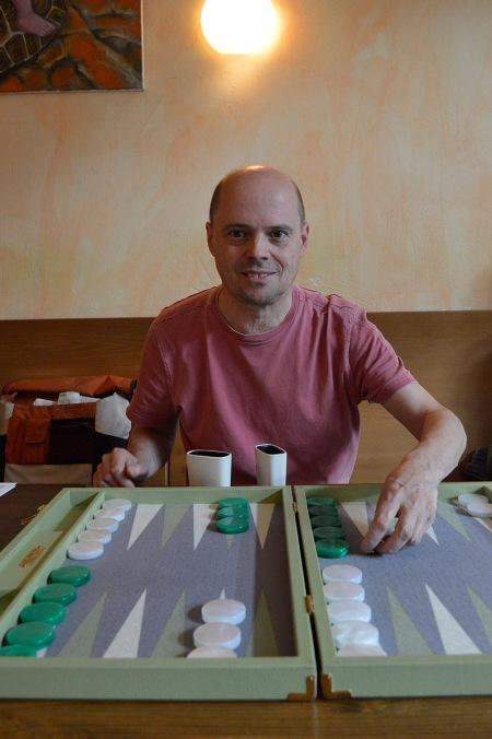 Rolf Schüler, amtierender Berliner Meister, wurde heute Dritter
