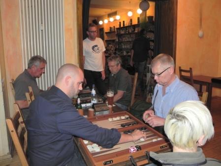 In der Second Chance: Tibor Taylor (li) gegen Richard Fiegen