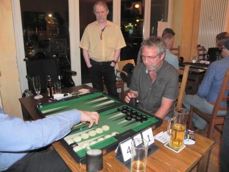 Spiel um den 3. Platz: Igor K (verdeckt) gegen Ralf Sudbrak