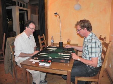 Im Finale der Second Chance: Lutz Steuer (re) gegen Dankwart Plattner