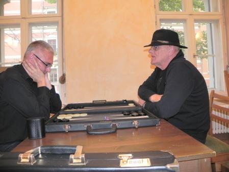 Matthias Strumpf (li) und Bernhard Ludwig Winkelhaus