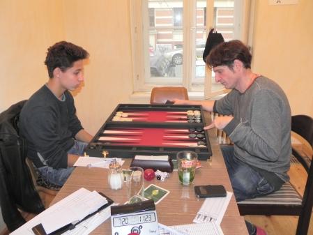 Yonas (li) und Matthäus Vigl