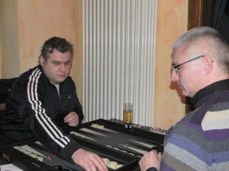 Pechvogel Igor Bakunowizki (li) gegen Matthias Strumpf