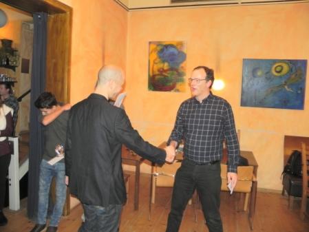 Steffen Schenk, Dritter des Jahresendturniers