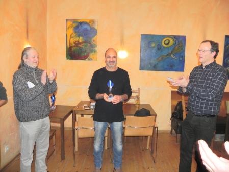 Peter Naguib, Sieger des Jahresendturniers