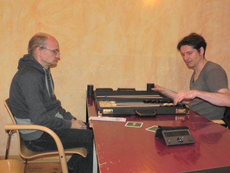 Carsten Müncheberg (li) und Matthäus Vigl