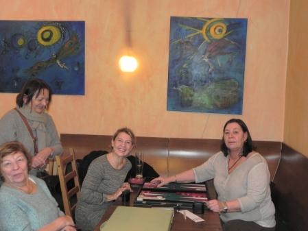 Damenrunde: Ute Gass, Sabine Brinkmann, Kathrin Hohn-Hein, Gast (v.l.n.r.).jpg