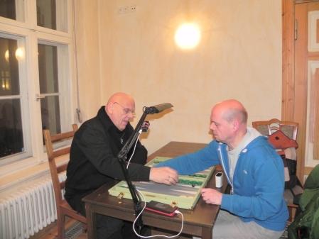 Mussten ins Stechen um den Einzug in die Second Chance: Bernhard Ludwig Winkelhaus (li) und Rolf Schüler
