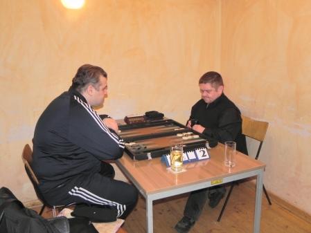Frank Maschkiwitz (re), Igor Bakunowizki