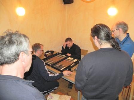 Halbfibale der Second Chance: Tobias Hellwag (li) und Frank Maschkiwitz, Kiebitze
