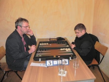 Finale der Second Chance: Ralf Sudbrak (li) und Frank Maschkiwitz