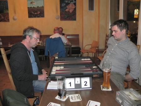 Finale: Ralf (li) und André