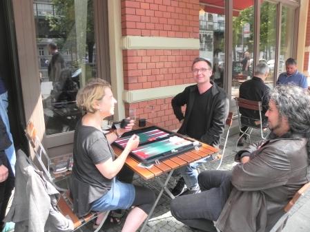 Sabine Brinkmann (li) und Michael Horchler, Kiebitz Charon