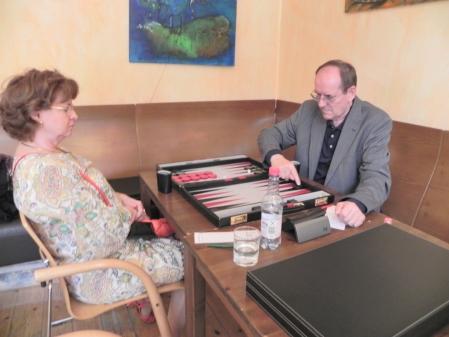 Ilona Klein und Ralf Jonas