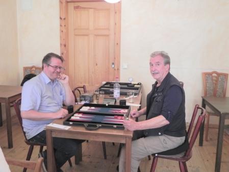 Beginnersturnier: Jochen Reinecke (li) und Detlev Appel