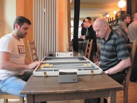 Speedfinale: Faruk Kocaer (li) und Georg Lachnit-Winter