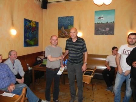 Finalist des Speedgammonturniers: Georg Lachnit-Winter