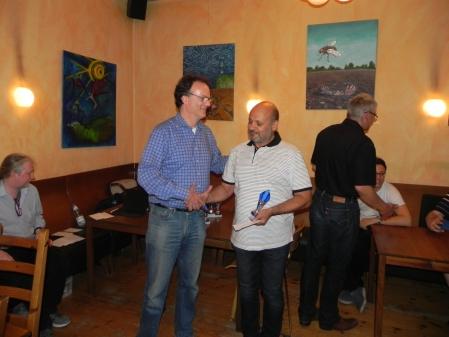 Beriet sich erfolgreich selbst: Juri Alper, Zweiter des Beratungsdoppelturniers