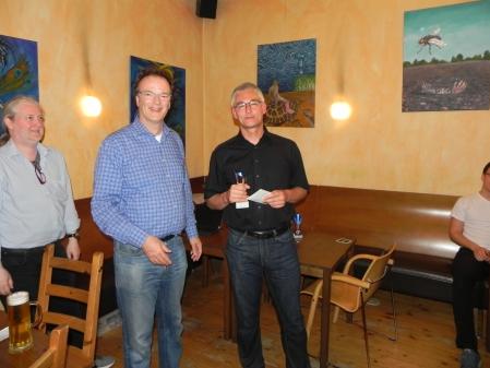 Sieger der Second Chance: Matthias Strumpf