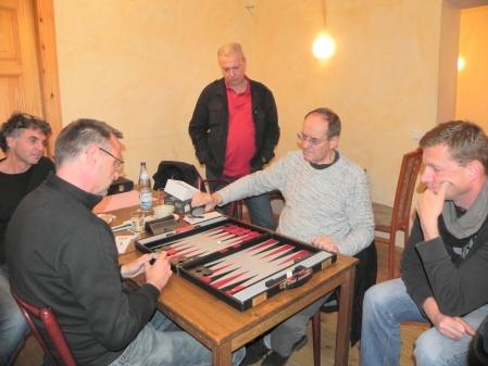 Michael Horchler (li), Ralf Jonas, Kiebitze