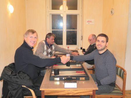 Second-Chance-Finale: Holger (li), Faruk