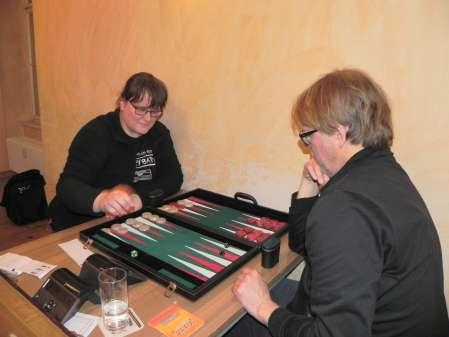 Ein Board, zwei Würfel, zwei Neue: Die Beginners Heike Zbierski und Michael Kaiser