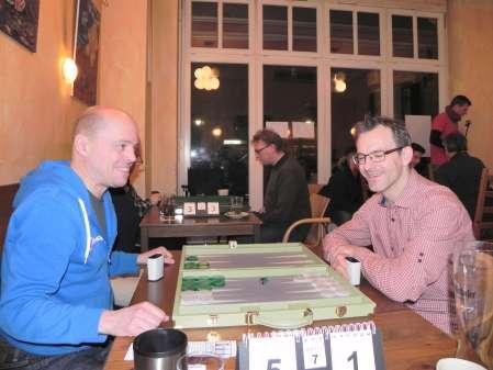 Peter Haßelberg, Leiter von EBIF Deutschland (re) und Co-Turnierdirektor in Dortmund, und Rolf Schüler