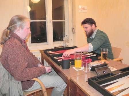 Thomas Krüger (li) und Maik Kerner. Maik ist der Sieger des Beginnersturniers, der in der Second Chance mitspielen darf